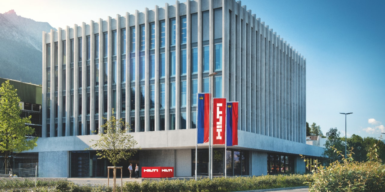 HILTI ACHIEVES DOUBLE-DIGIT SALES GROWTH