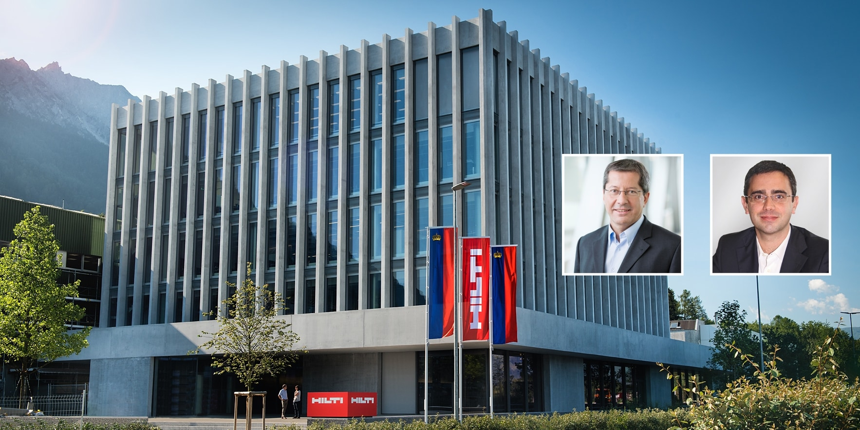 CHANGE IN THE HILTI EXECUTIVE BOARD