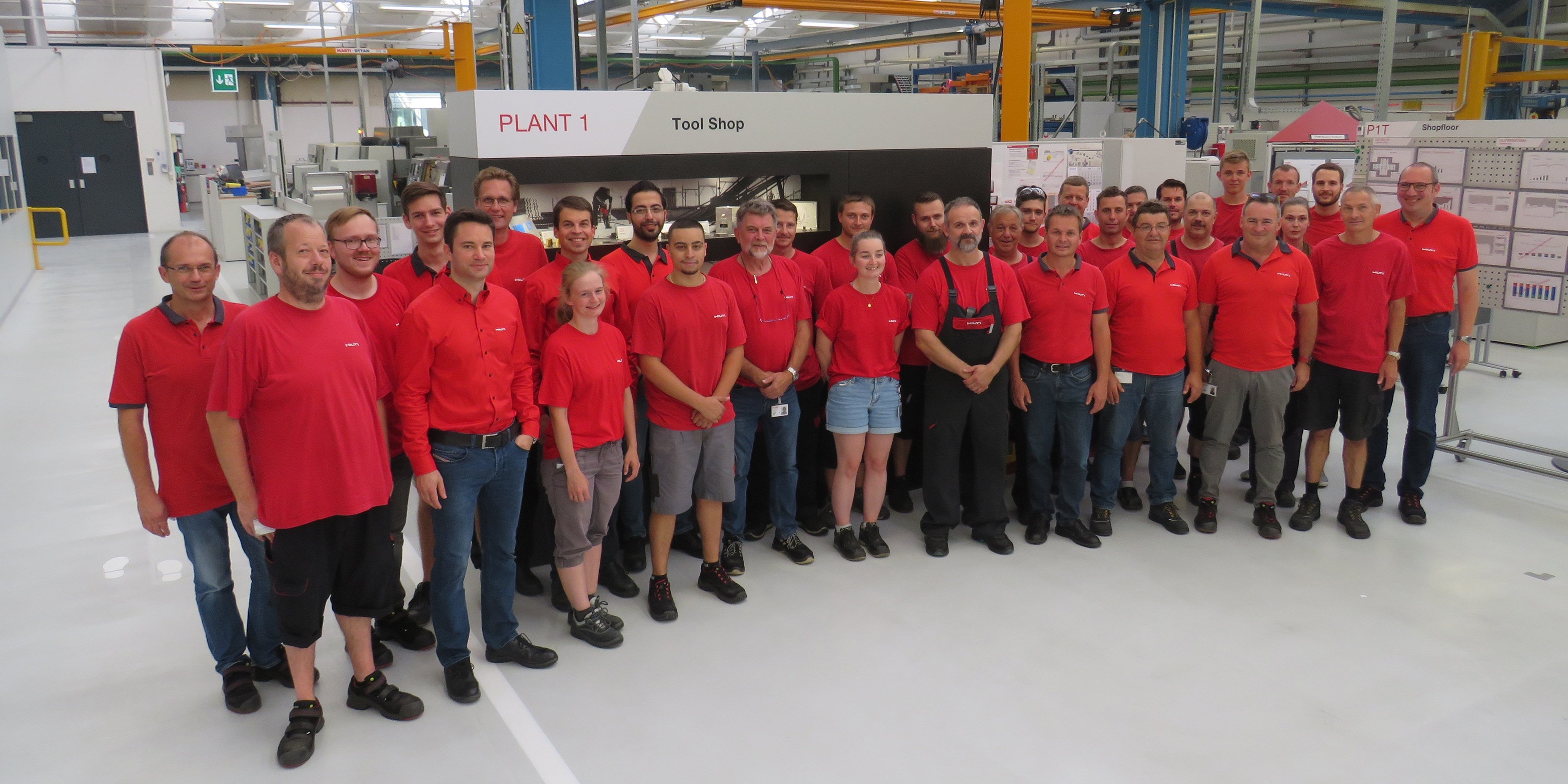 Hilti toolmaking unit wins in Excellence In Production competition