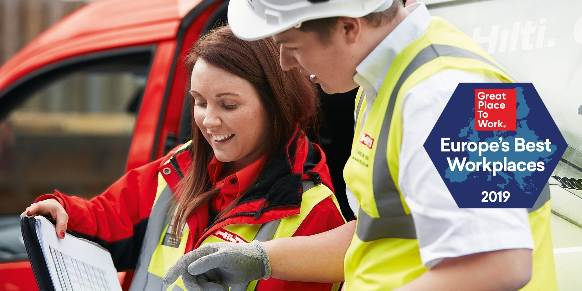 HILTI RANKS AMONG EUROPE'S BEST EMPLOYERS