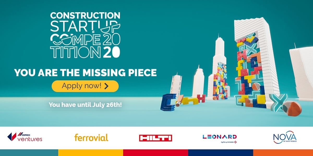 Hilti among industry leaders to launch 2020 construction startup competition