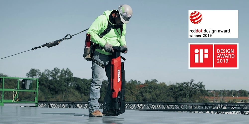 Hilti innovations win Product Design Awards